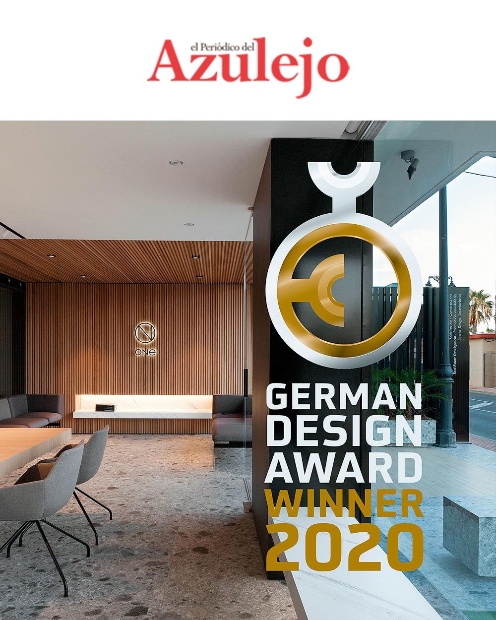 publicacion-elpreriodicodelazulejo_Premio-German-Design-Award_Manuel-García-Asociados